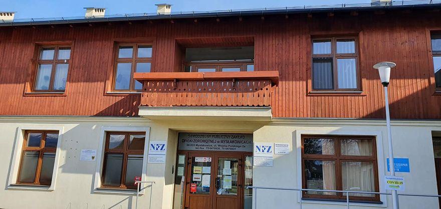 Mysłakowice: Finał remontu SP ZOZ