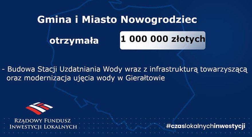 Nowogrodziec: Inwestycja w wodę