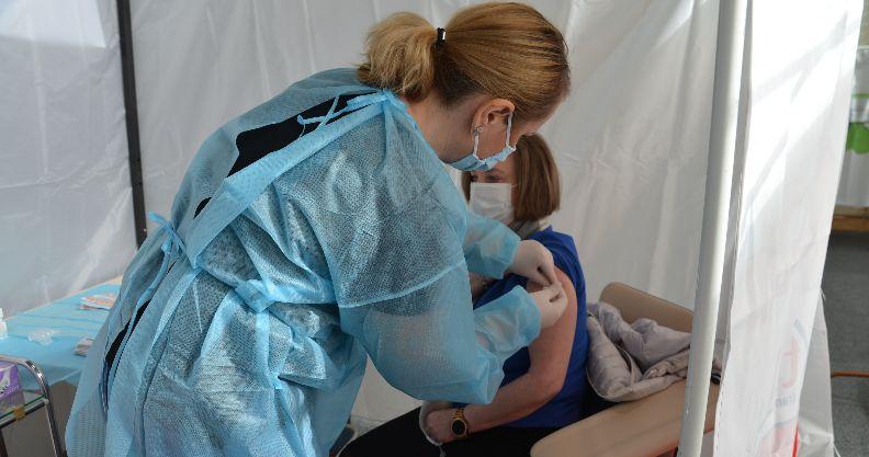 Złotoryja: Pomagali szczepić