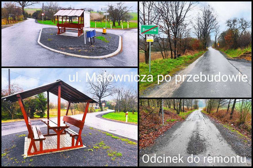Lwówek Śląski, Brunów: Jest dotacja na drogę
