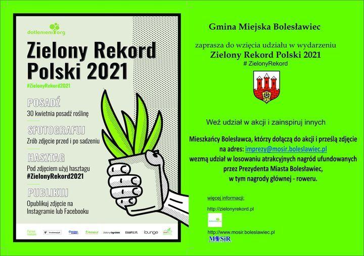 Bolesławiec: Zielony rekord Polski