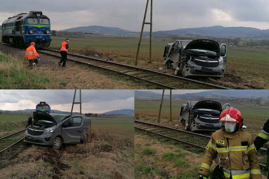 Gmina Marciszów: Zderzenie z lokomotywą