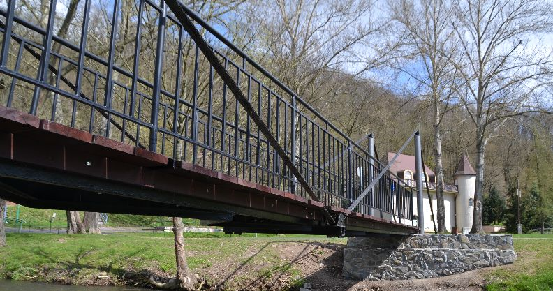 Złotoryja: Mostek już po remoncie