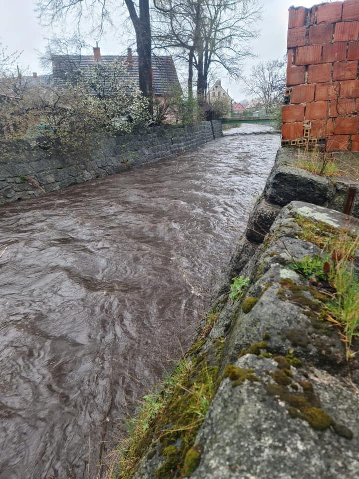 Jelenia Góra: Rośnie stan wód w rzekach