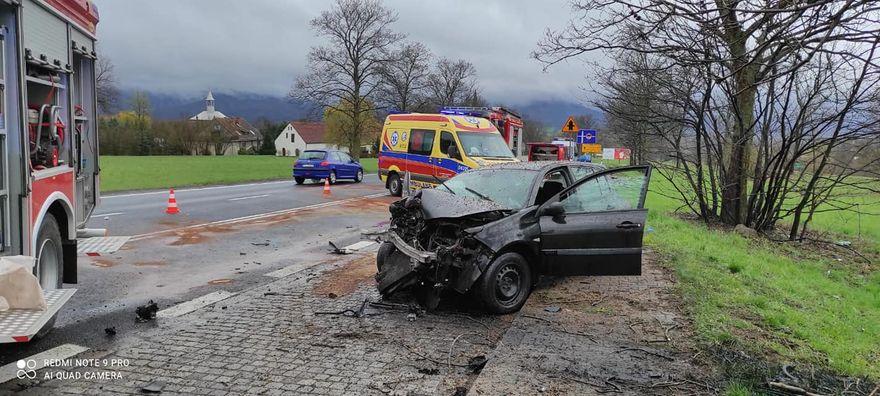 Radomierz: Czterej ranni w wypadku