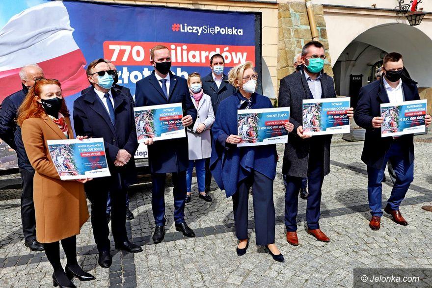 Jelenia Góra: Politycy prawicy z apelem
