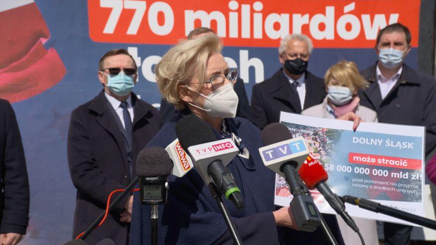 Jelenia Góra: Marzena Machałek również zaapelowała do posłów