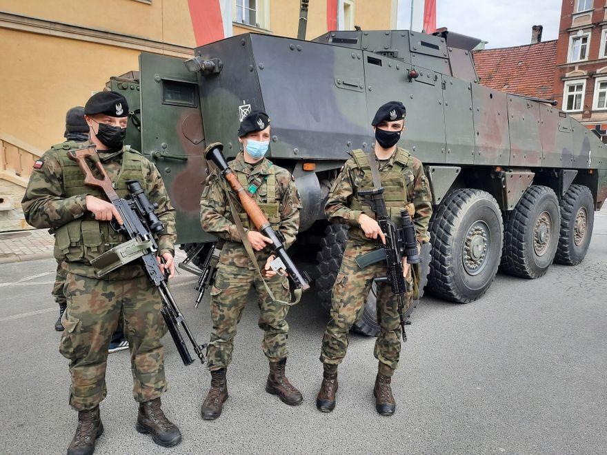 Świerzawa: Przyjechało wojsko