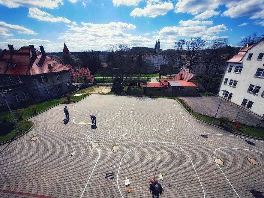Lwówek Śląski: Trasa dla uczniów