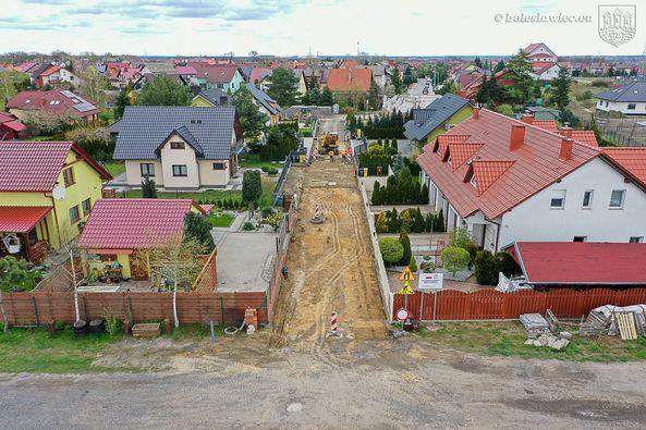 Bolesławiec: Nowa droga przy Grabowej