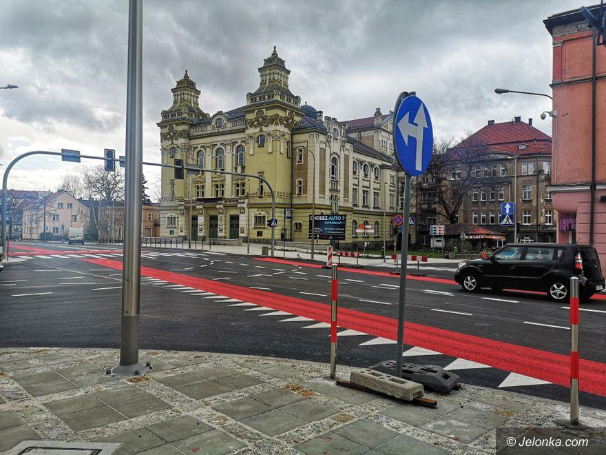 Jelenia Góra: Końcówka prac na alei Wojska Polskiego