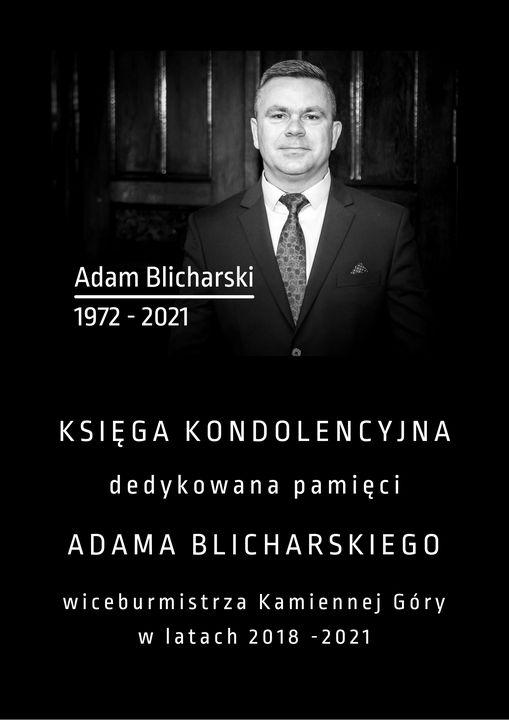 Kamienna Góra: Księga pamięci Adama Blicharskiego