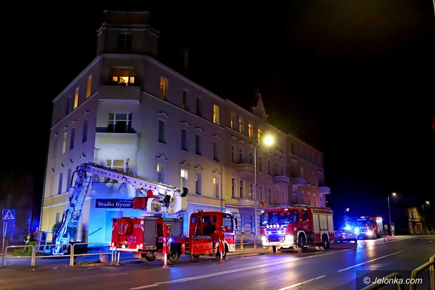 Jelenia Góra: Nocny pożar mieszkania