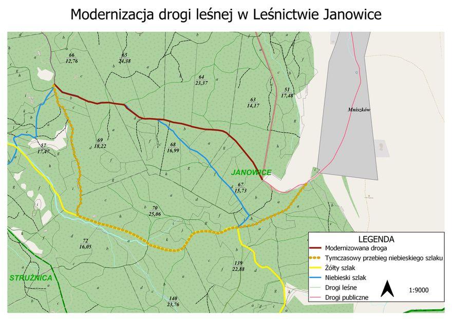 Janowice Wielkie: Remont drogi leśnej w Rudawach