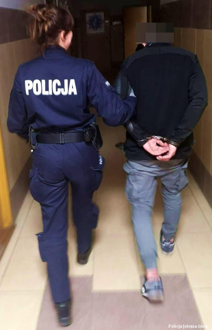Jelenia Góra: Nie cieszył się długo kradzionym rowerem