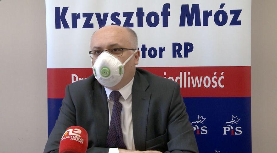 Jelenia Góra: Senator Krzysztof Mróz o ważnej inwestycji