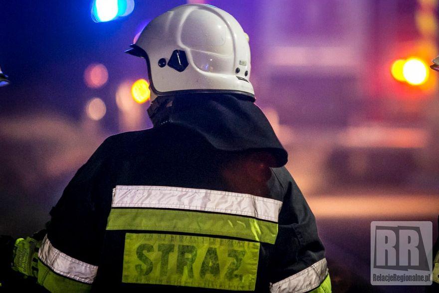 Gmina Marciszów: Ogień w pomieszczeniach gospodarczych