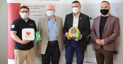 Złotoryja: Kolejny defibrylator