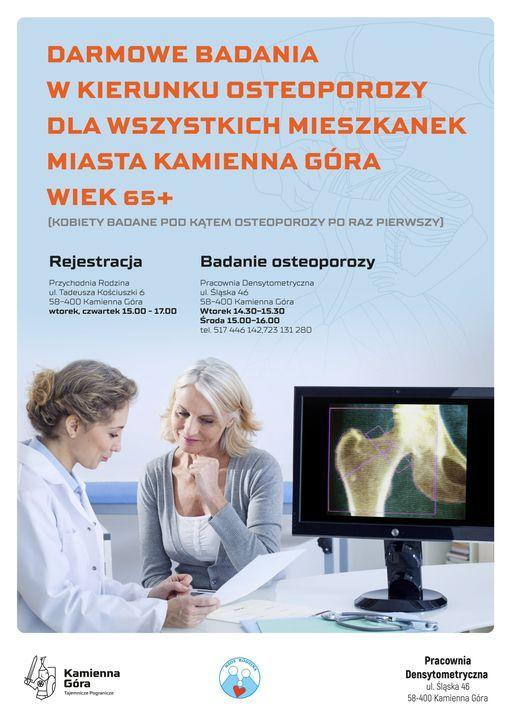 Kamienna Góra: Przeciw osteoporozie