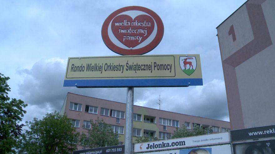 Jelenia Góra: Jelenia Góra ma rondo imienia WOŚP