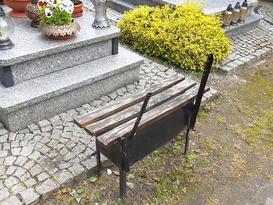 Lwówek Śląski: Wandal na cmentarzu