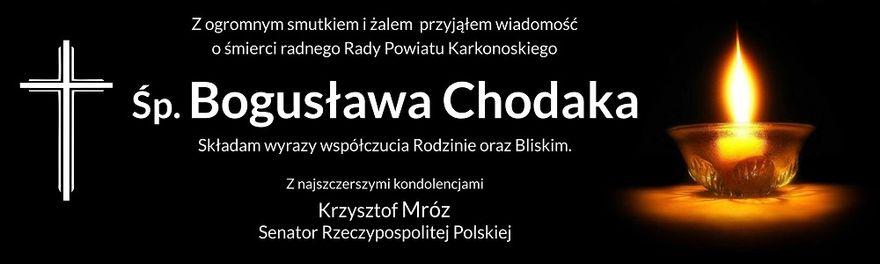 Jelenia Góra: Odszedł Bogusław Chodak