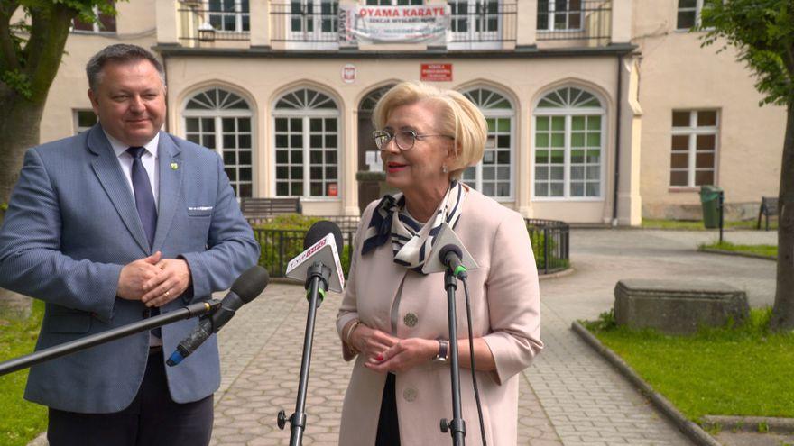 Jelenia Góra: Minister Machałek pomoże w budowie szkoły