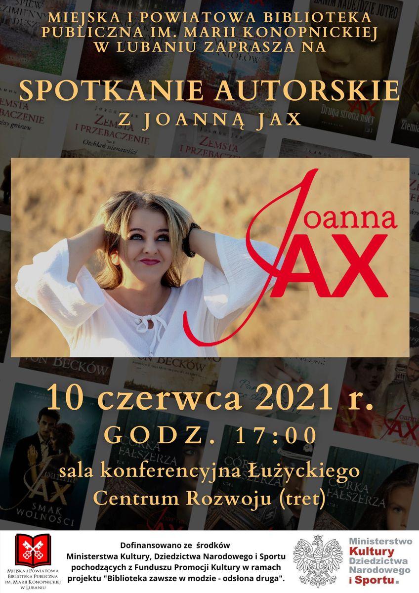Lubań: Spotkanie z Joanną Jax