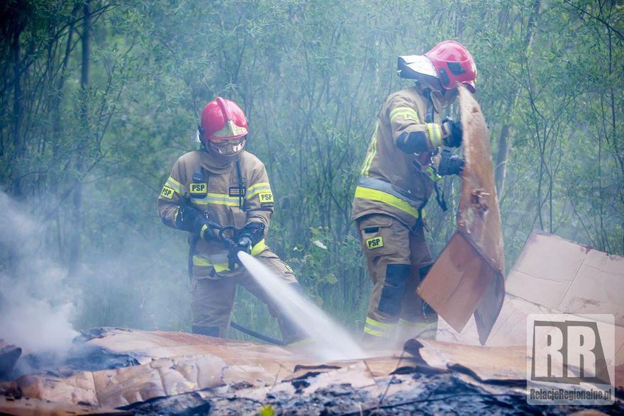 Krzeszówek: Płonęła była żwirownia