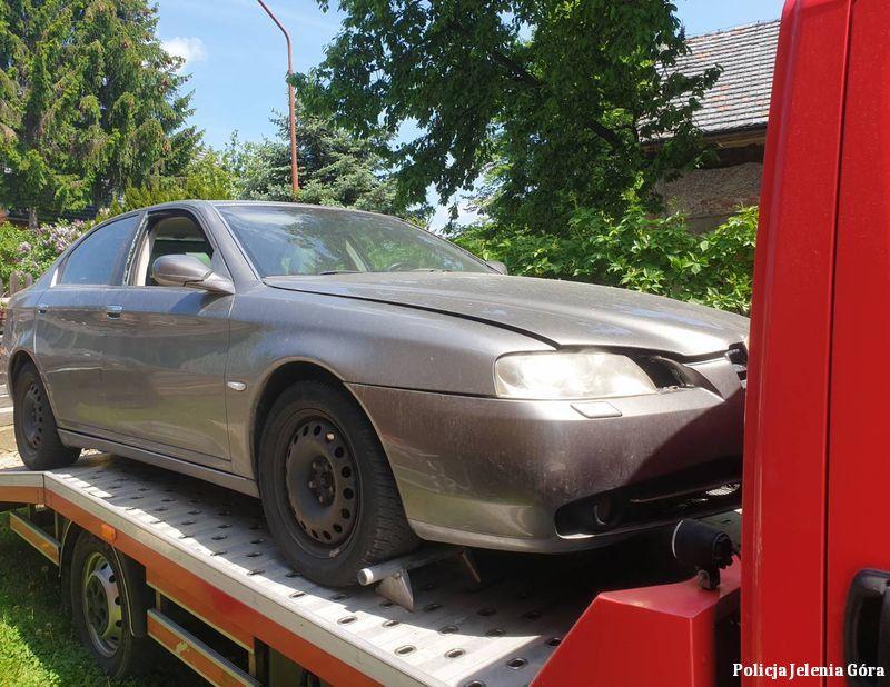 Jelenia Góra: Złodziej samochodów zatrzymany