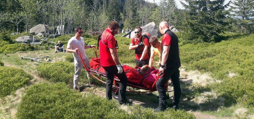 Powiat: Pracowity weekend ratowników GOPR