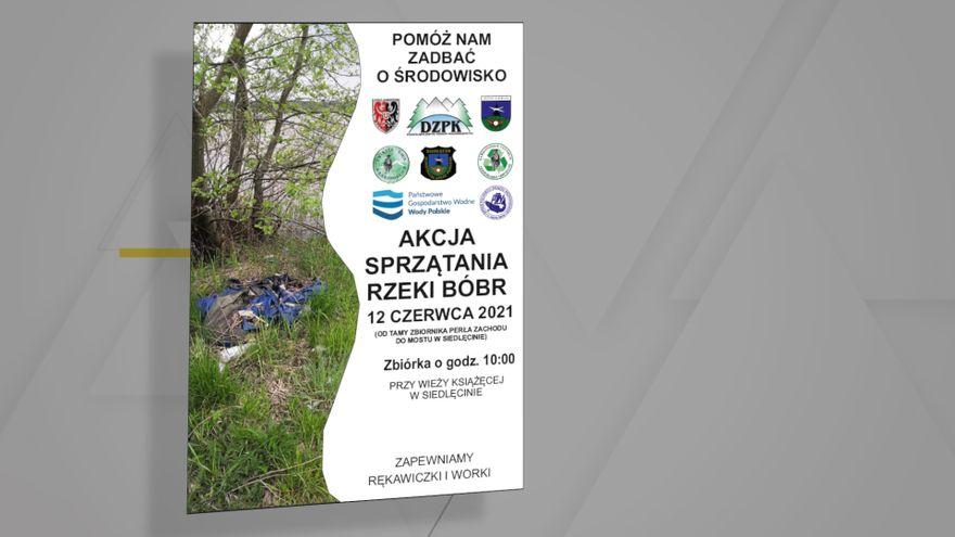 Jelenia Góra: Sprzątanie rzeki Bóbr