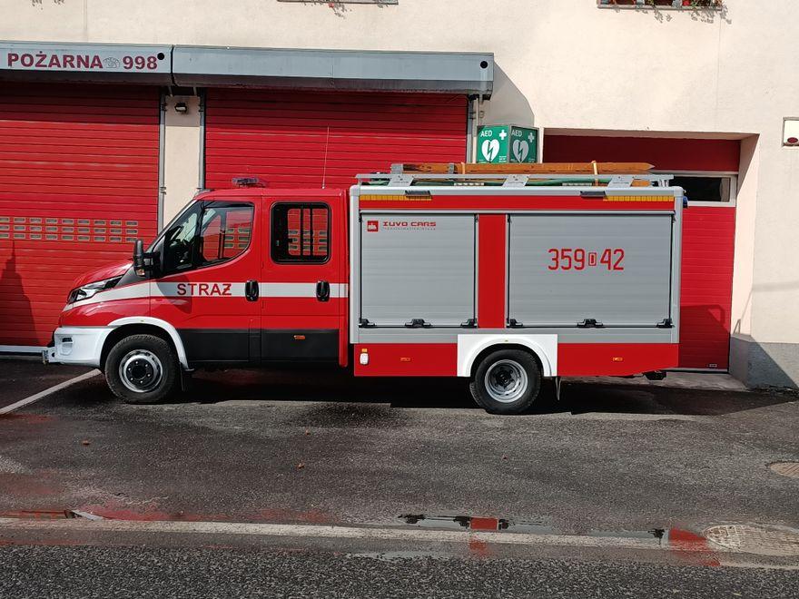 Piechowice: Nowy wóz dla strażaków