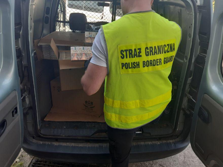 Jelenia Góra: Kontrabanda przejęta przez strażników granicznych
