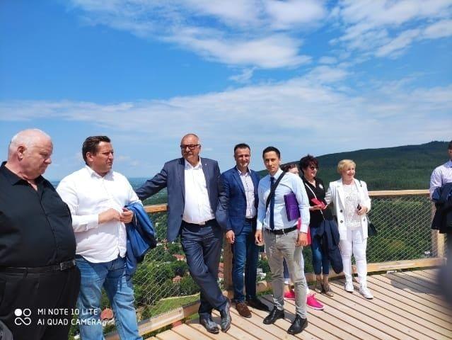 Leśna: Pracowity czas burmistrza
