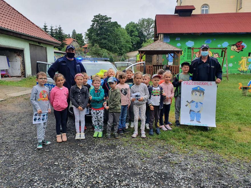 Lubomierz: Policjanci w przedszkolu