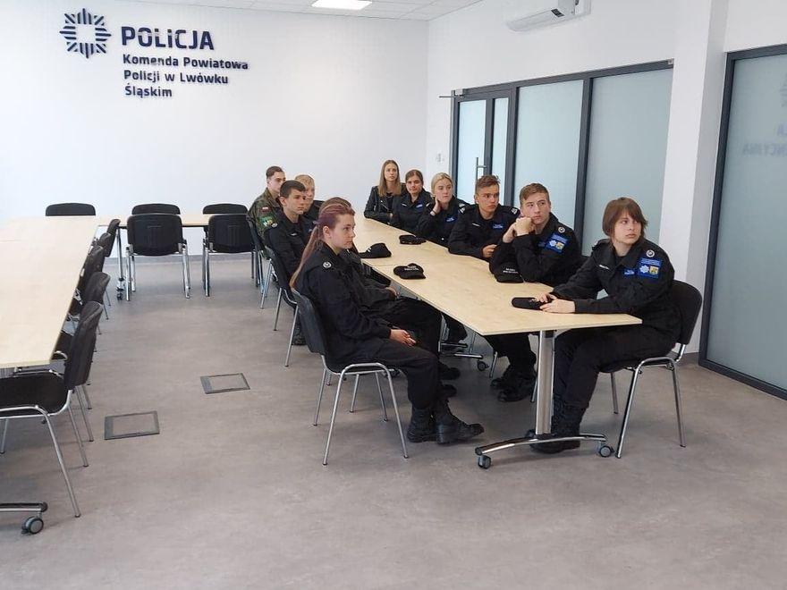 Lwówek Śląski: Z wizytą na komendzie