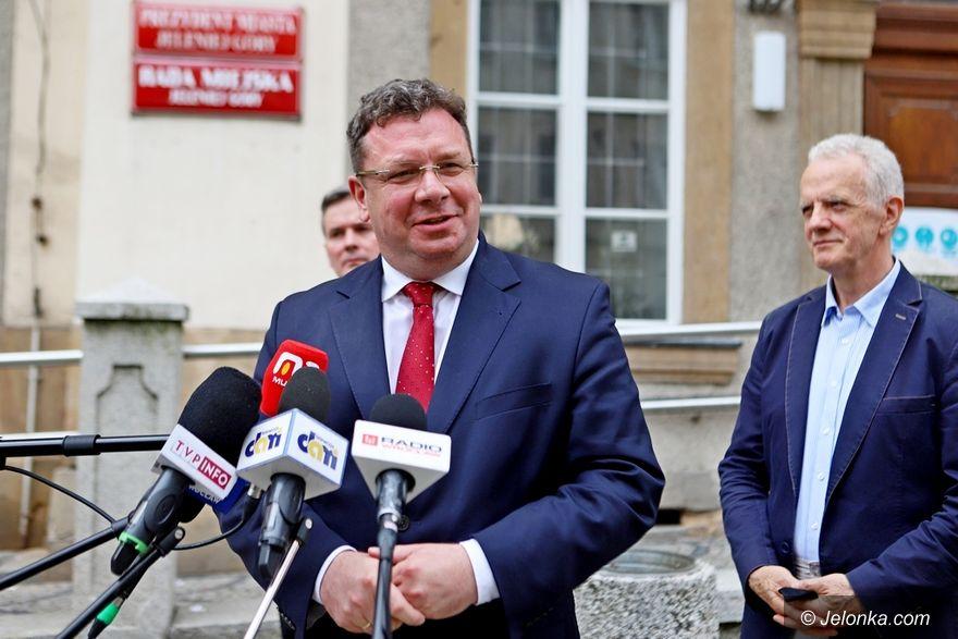 Jelenia Góra: Michał Wójcik przekonywał o jedności