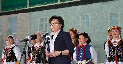 Złotoryja: Wizyta pani marszałek