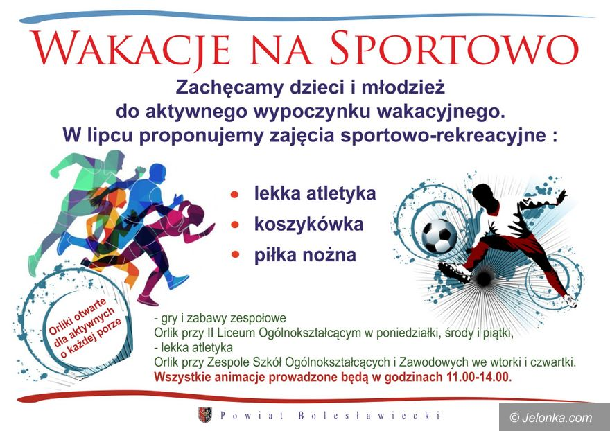 Bolesławiec: Wakacje na sportowo