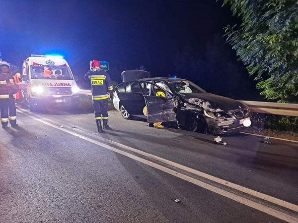 Marciszów: Wypadek drogowy