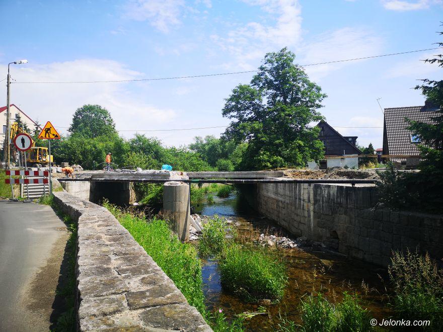 Jelenia Góra: Most w remoncie