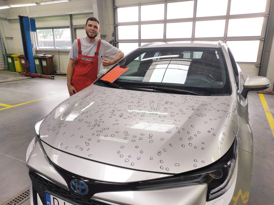 Jelenia Góra: Toyota Nowakowski ma sposób na gradobicie