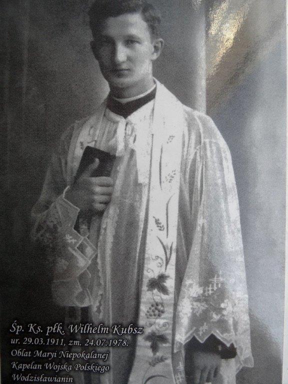 Jelenia Góra: Wilhelm Kubsz kapelan I Dywizji im. Kościuszki