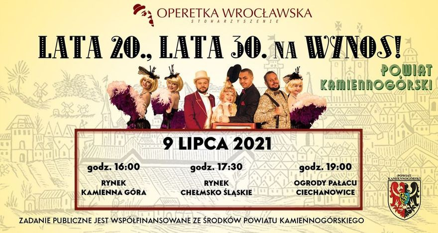 Powiat kamiennogórski: Operetka na wynos