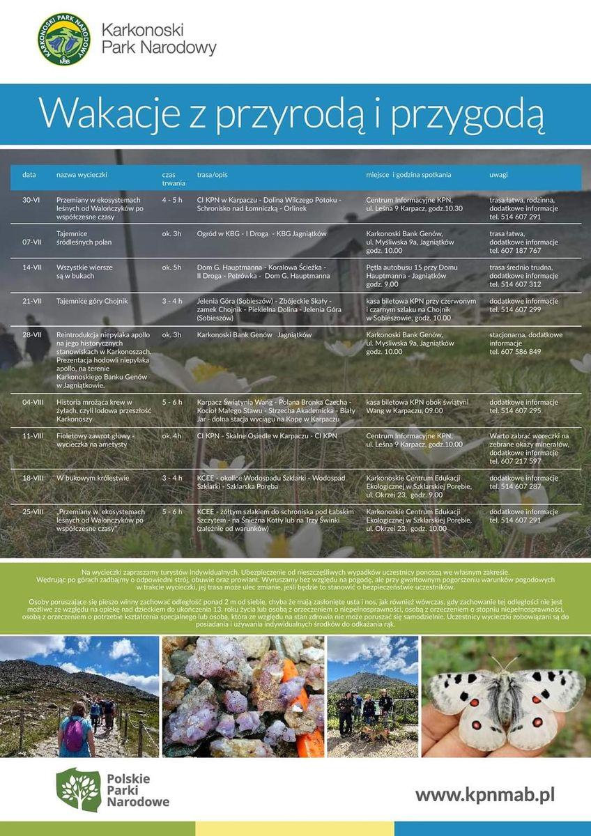 Region: Wakacje z przyrodą i przygodą