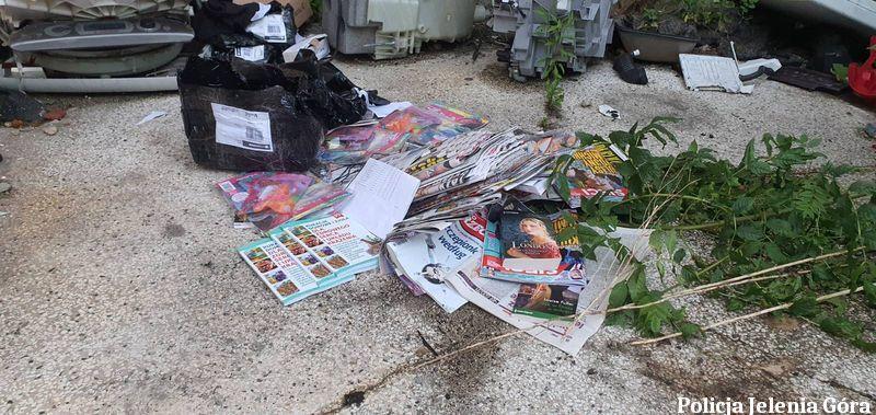 Jelenia Góra: Włamanie po… prasę