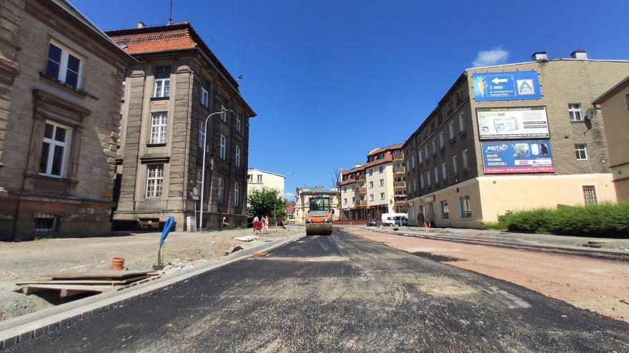 Kamienna Góra: Remont ulicy na finale