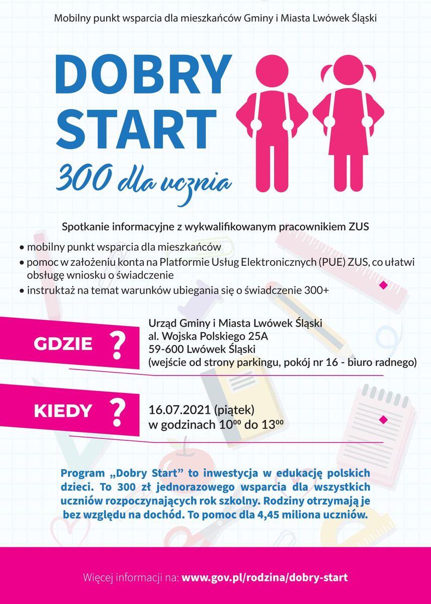 Lwówek Śląski: Mobilny dobry start