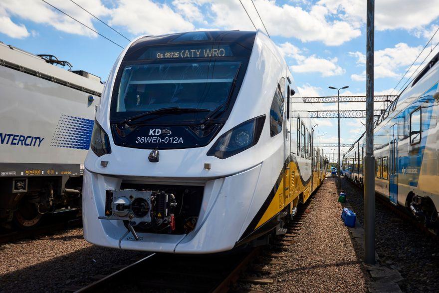 Region: Trwają testy pociągu hybrydowgo Impuls 2